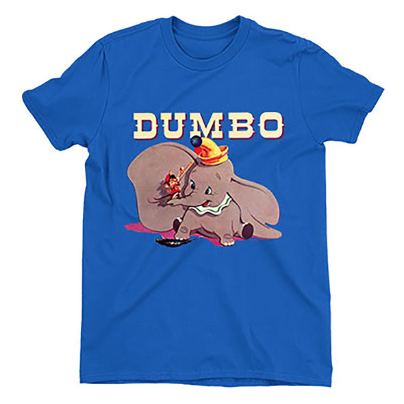 Dumbo & Timothy's Trombone Ladies Blue T-Shirt