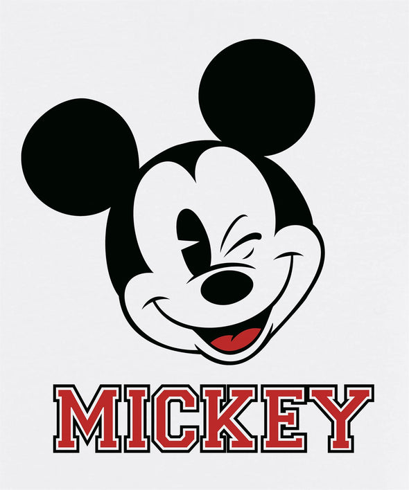 Mickey Mouse Wink Children's Unisex White T-Shirt