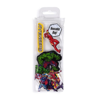 Marvel Avengers Burst 4 Eraser Set