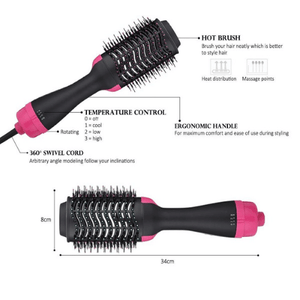 2-In-1 Professional Hair Dryer Brush - FREE SHIPPING