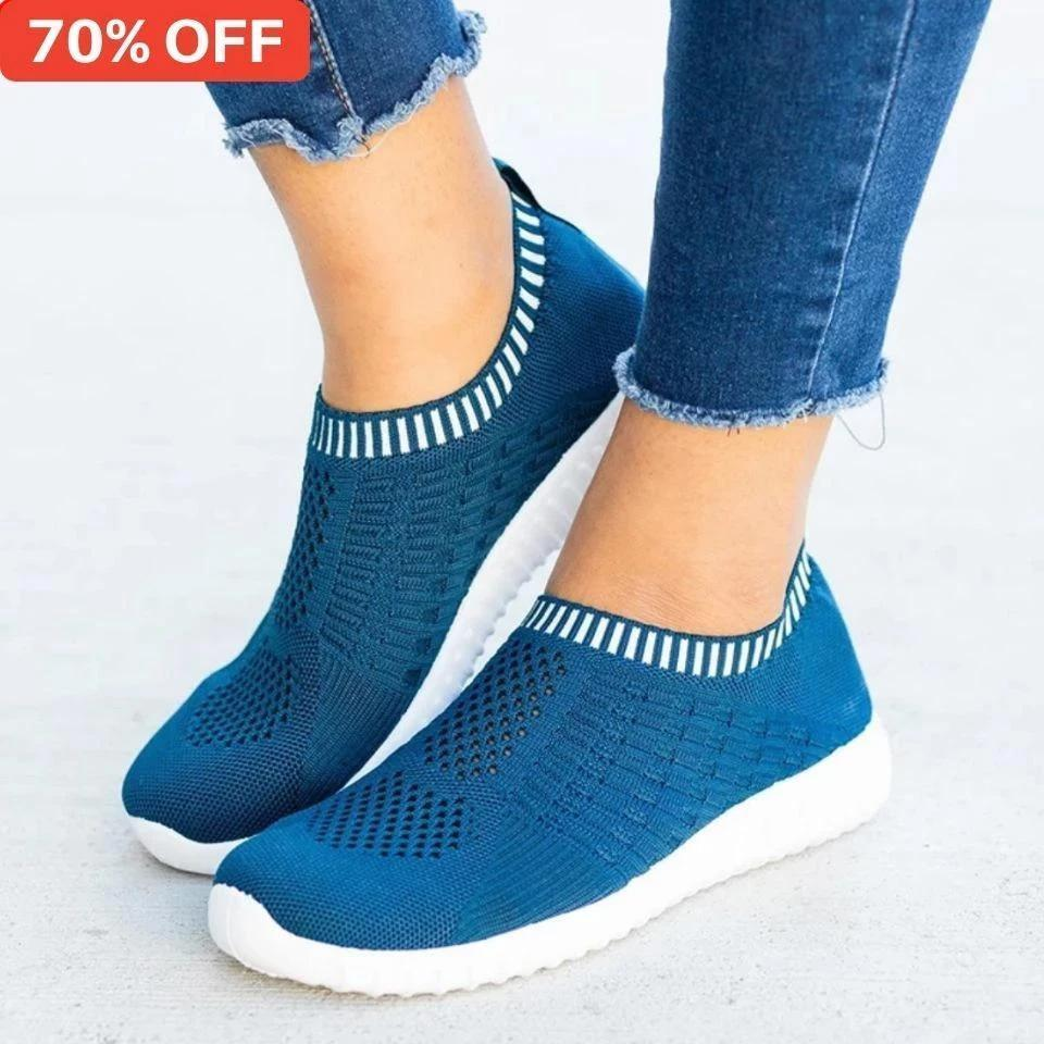 70% OFF TODAY - Winter Breathable Mesh Casual Walking Sneakers - [BUY 2 FREE SHIPPING] - ZATAKI