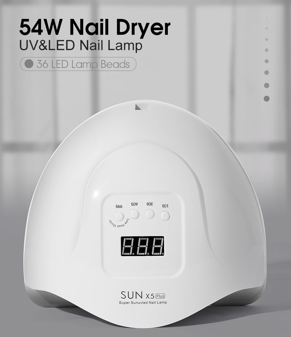 54W Nail Dryer-UV&LED Nail Lamp