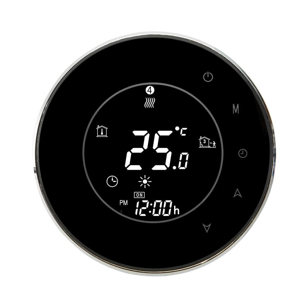 Digital Thermostat WiFi Remote Control LCD Display Programmable Easy Temperature Controller for Smart Home - ZATAKI