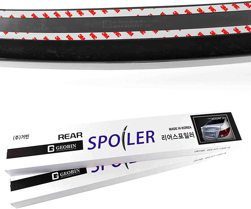Carbon Rear Trunk Spoiler for Hyundai Sonata 2006 - 2010