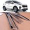 4-Piece Chrome Window Vent Visors Rain Guards for Kia Sportage 2017 - 2019
