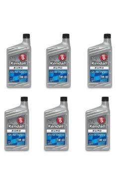 5W40 GT-1 Euro Full Synthetic Motor Oil by Kendall