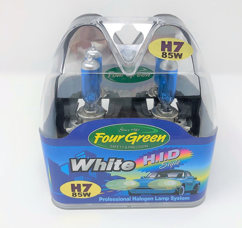 H7 12V 85W - 2-Pack Premium Halogen Headlight Bulb Set