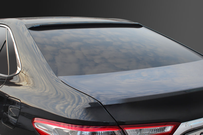 Smoke (Black) Rear Window Visor for Toyota Camry 2015 - 2018+