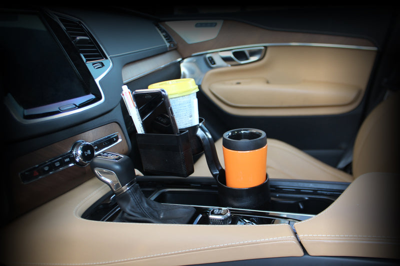 Universal Black 3-Way Multi Cup Holder