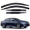 4-Piece Smoke (Black) Window Vent Visors Rain Guards for Kia Optima (K5) 2016 - 2020+