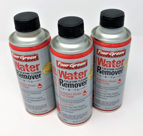 3-Pack Fourgreen Fuel & Tank Cleaner, Water Remover Additive