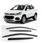 4-Piece Smoke (Black) Window Vent Visors Rain Guards for Chevrolet Trax 2013 - 2018+