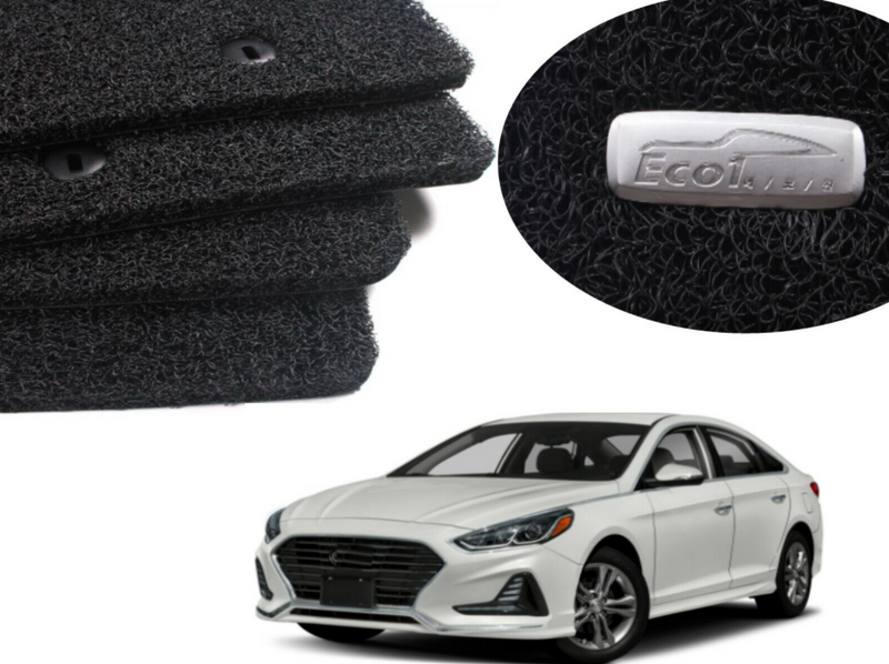 All Weather Coil Floormat Set for Hyundai Sonata 2015 - 2019