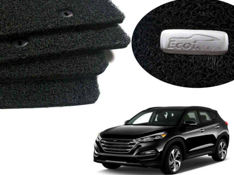 All Weather Coil Floormat Set for Hyundai Tucson 2016 - 2020