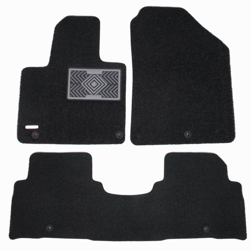 All Weather Coil Floormat Set for Kia Sorento 2016 - 2020