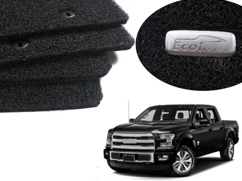 All Weather Coil Floormat Set for Ford F-150 2015 - 2021+