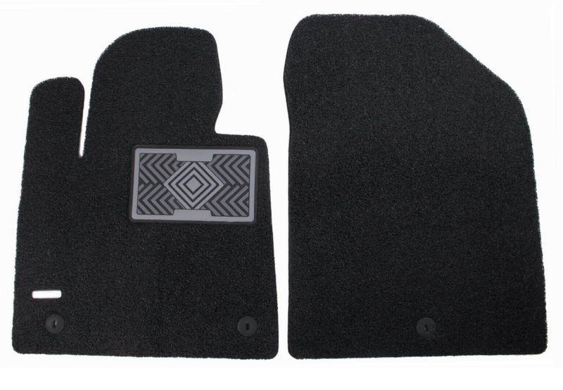 All Weather Coil Floormat Set for Hyundai Santa Fe 2019 - 2021+