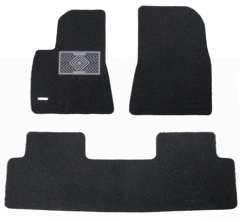 All Weather Coil Floormat Set for Tesla Model 3 2017 - 2021+