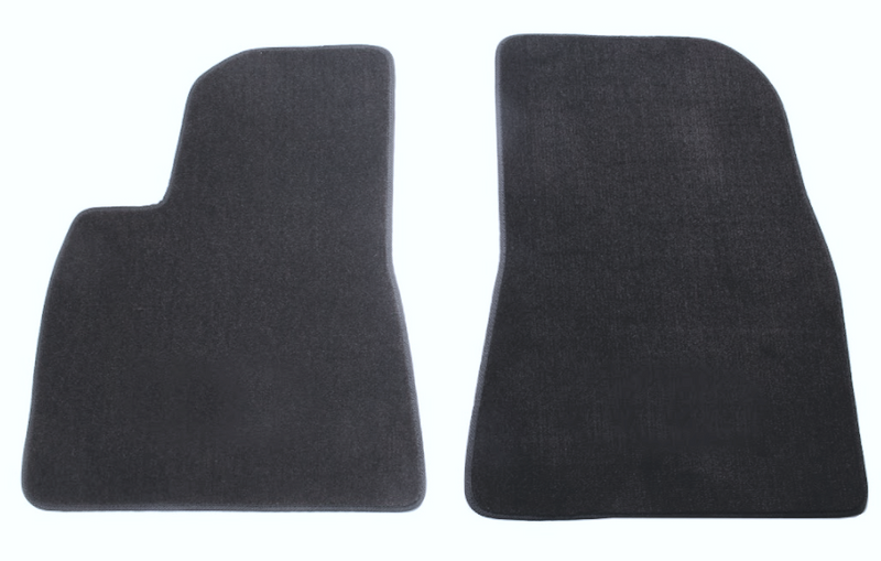 Front Charcoal / Cocoa Floormat Set for Tesla Model 3 2017 - 2021+