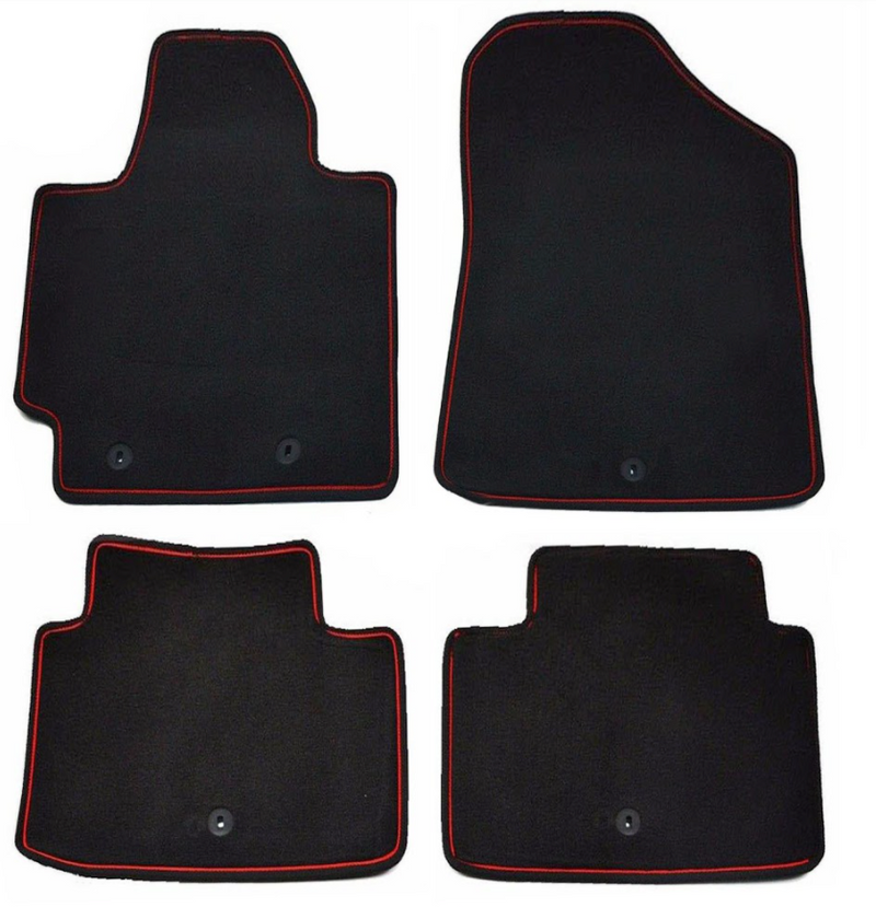 Full Carpet Floormat Set for Kia Soul 2014 - 2019