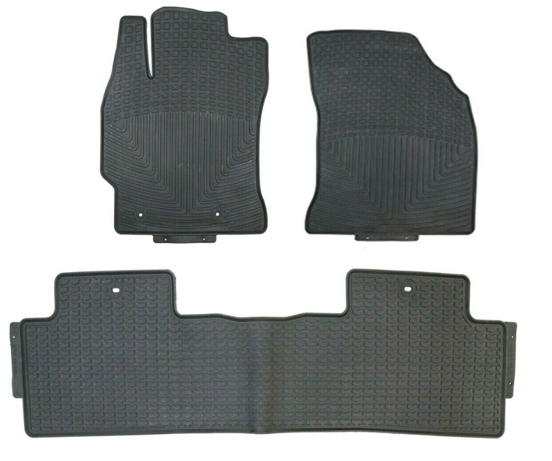 All Weather Floormat Set for Toyota Corolla 2014 - 2018