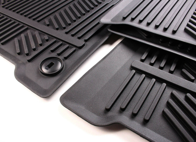 Complete All Weather Floormat Set for 7 Passenger Kia Sorento 2016 - 2020