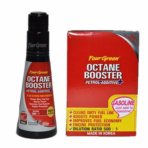 Fourgreen Premium Octane Booster (Petrol / Gasoline Additive) 100ml
