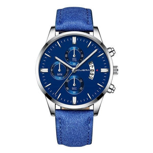 Montre Homme Cuir Chic Dateur N / China