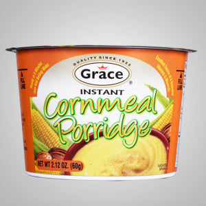 Grace Instant Cornmeal Porridge captures all the flavor and goodness of authentic Caribbean porridge. Just add water.