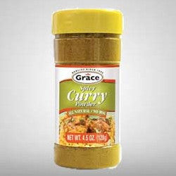 Grace Spicy Curry Seasoning is a warm combination of all natural flavors that will enhance your meat, poultry, seafood or vegetable dishes.