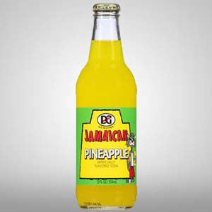 Genuine Jamaican Pineapple Soda from the makers of