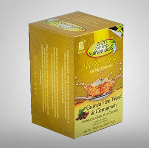 Eden Gardens Guinea Hen Weed & Cinnamon Tea is rich in anti-oxidants with anti-inflammatory properties known to improve overall immune function with a hint of cinnamon.