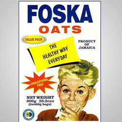 Foska Oats cooks in (1) minute to create delicious oats porridge. Can be used to make cookies, muffins, shakes and other creative recipes.