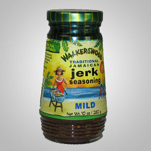 Walkerswood Jamaican Jerk Seasoning Mild maintains the tradition jerk seasoning flavors but with gentle, tempered spices. 10 oz