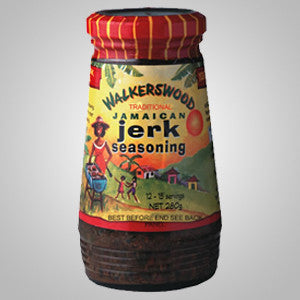 "Walkerswood Jamaican Jerk Seasoning is really versatile and adds a Jamaican ""kick"" to meat, fish and vegetable dishes. 10 oz"