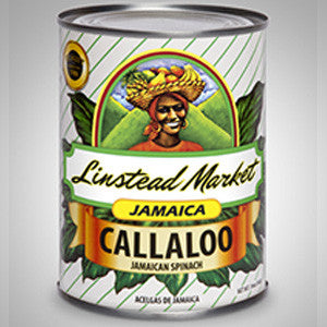 Linstead Market Callaloo is a green leafy vegetable similar to spinach. Rich in iron, calcium and vitamin B2. - 19 oz'