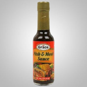 Grace Fish & Meat Sauce is a delicious blend of premium quality ingredients. It adds great flavor to any dish. 2.99 oz.