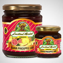 Linstead Market Guava Pineapple Jam combines the sweet taste of guavas blended with Jamaican pineapples.  - 12 oz