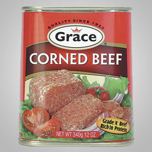 Grace Corned Beef is best with your favorite vegetable or casserole. Can also be enjoyed in sandwiches and biscuits. 12 oz.  Now available in low-sodium