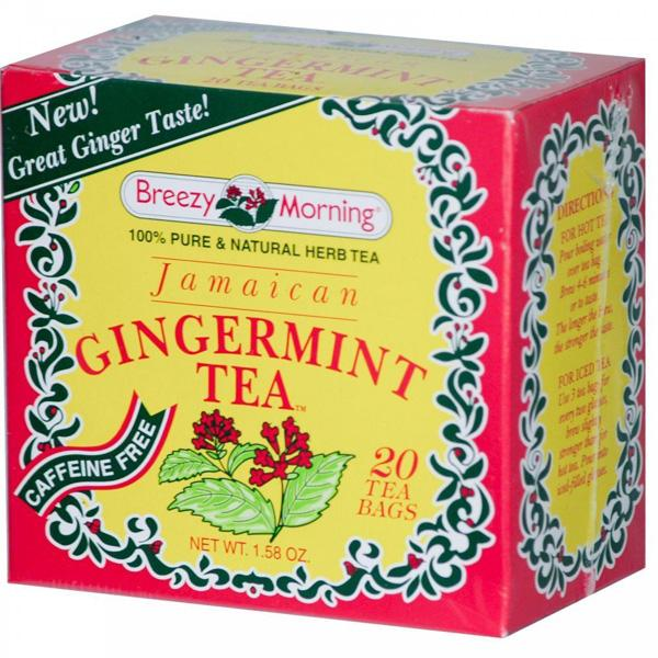 Breezy Morning Jamaican Gingermint Tea