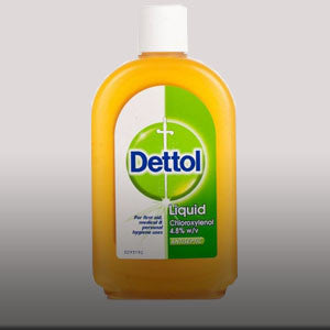 Dettol Liquid contains Chloroxylenol. It kills bacteria and provides protection against germs which can cause infection and illness. 16.9 fl oz.
