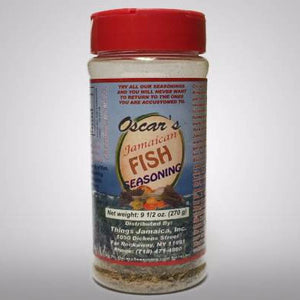 This powdered seasoning is made up of many spices and is all you need to make great tasting fish. No other Seasonings necessary, All Natural, no MSG.