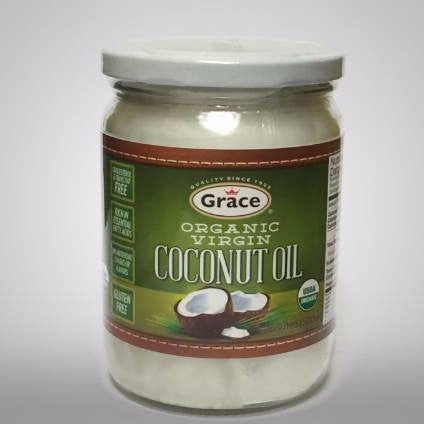 Grace Organic Virgin Coconut Oil 16.9 fl oz