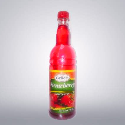 Grace Strawberry Syrup
