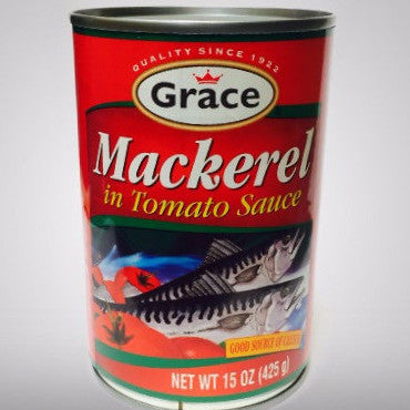 Grace Classic Mackerel is a traditional favorite with a delicious rich tomato sauce enjoyed by generations.