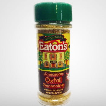 Eaton's Oxtail Seasoning is a perfect blend of authentic Jamaican seasonings and its low salt content in addition to no MSG will make your dish healthier while adding great flavors.
