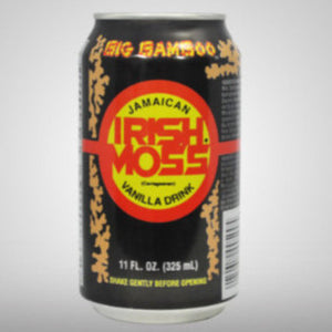 Jamaica's famous male energy nutritious drink with Irish Moss  - vanilla flavor.