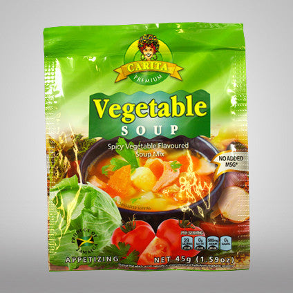 Try this home style soup mix that is vegetable flavored. The tempting aromas and burst of flavors will take you home and it will be ready for your table in just minutes!