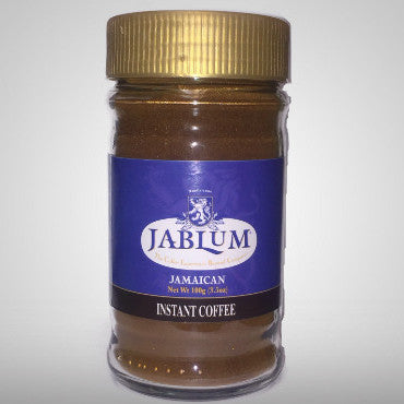 Jablum Instant Coffee serves up a reinvigorating way to escape the ordinary. It truly is the premier passport for the coffee loving palate. 3.5 oz