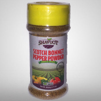 Shavuot Scotch Bonnet Pepper Powder will not only add